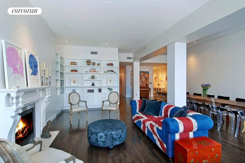 New York City Real Estate | View 35 NORTH MOORE ST, #3B | Living and Dining Area