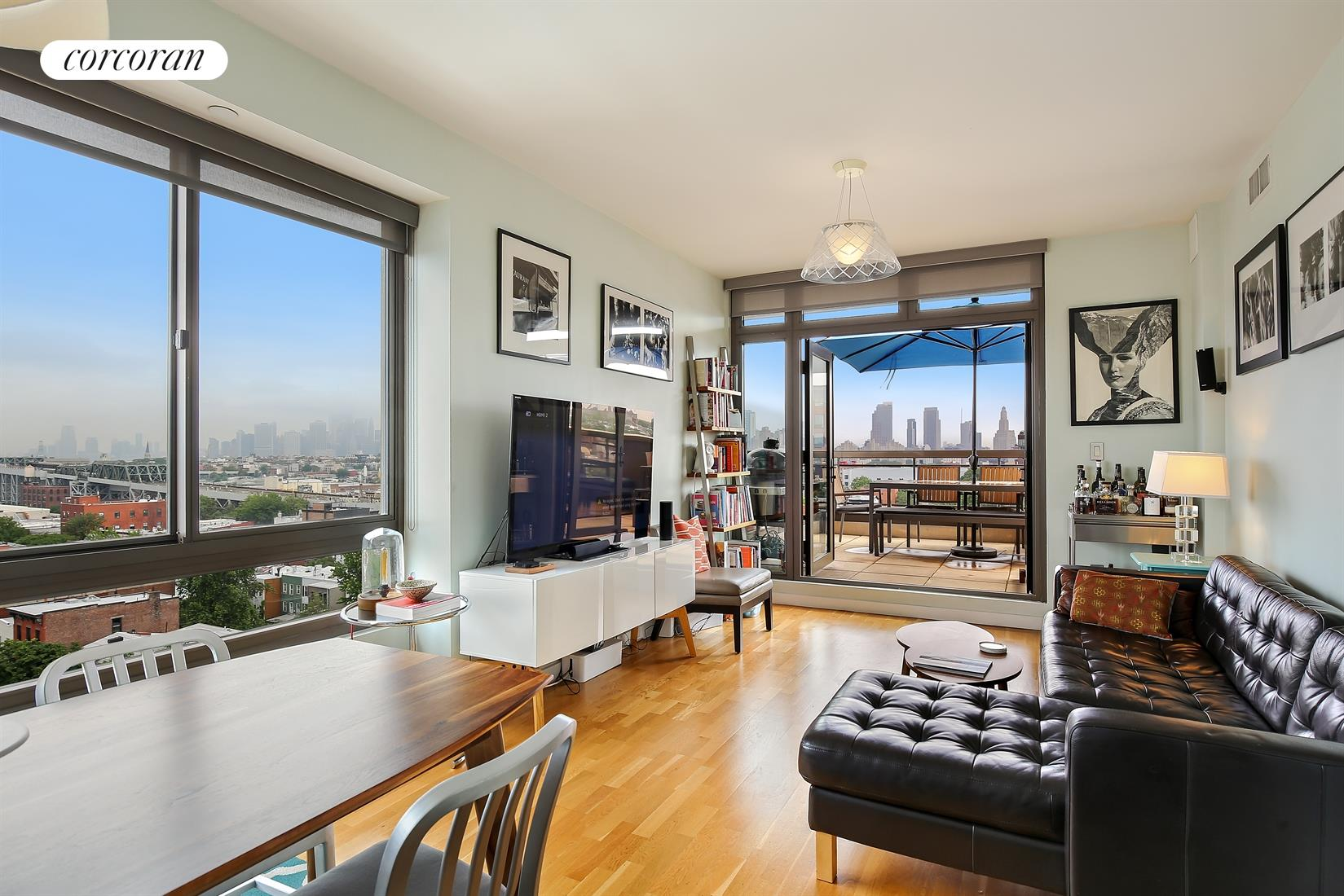 500 4th Avenue, 9A, Living Room / Dining Room Views