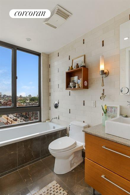 Master Bathroom and Tub with Views