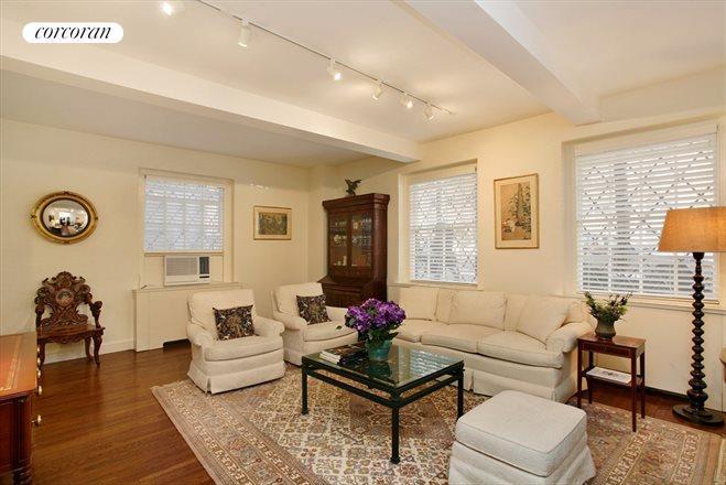 Living Room 86 Street corcoran, 530 east 86th street, apt. 1c, upper east side real