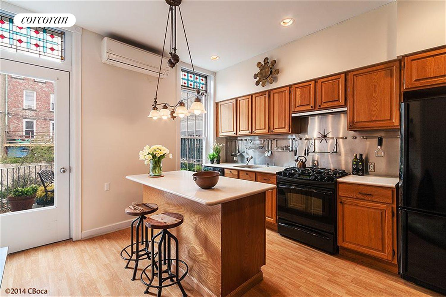 New York City Real Estate | View 758 Union Street | Sunny kitchen