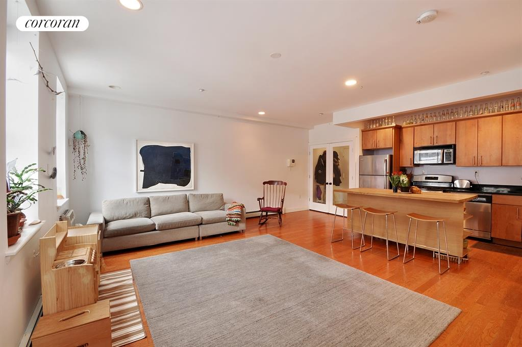 13 Irving Place, 1B, Living Room