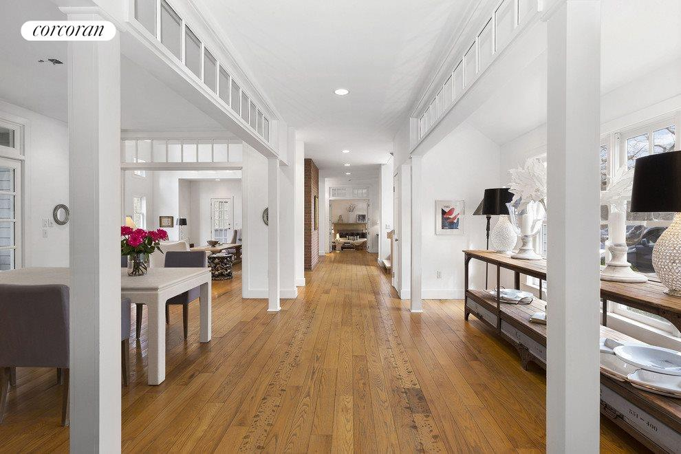 Gracious hallway