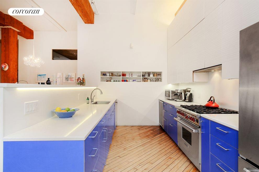 Renovated Kitchen with Designer Finishes