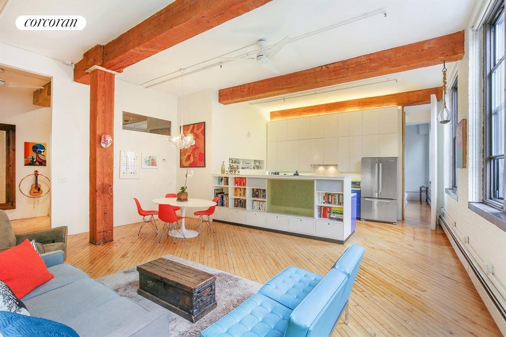 Large Open Plan Authentic Loft