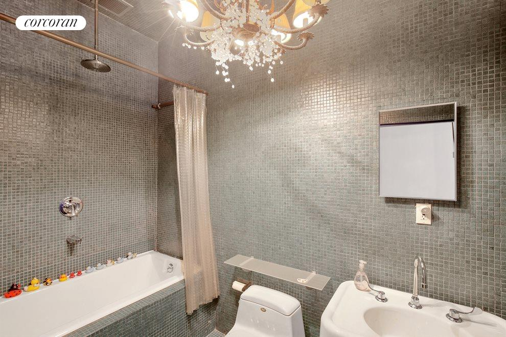Deep Tub and Dramatic Tile Work