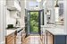 123 Congress Street, Kitchen with French Doors to Garden
