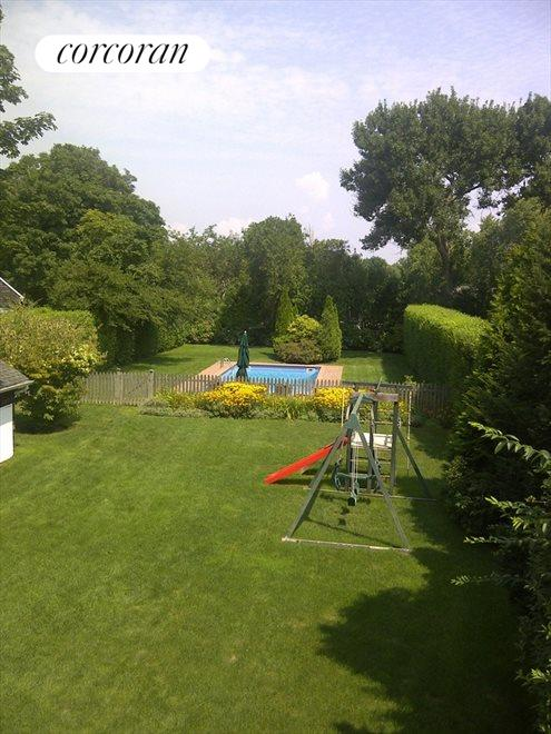 View to the Pool from Master Deck