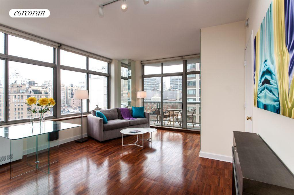 188 East 64th Street, 906, Living Room