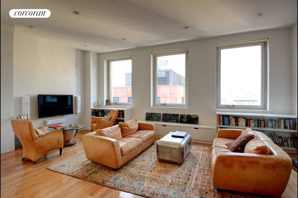 714 Broadway, PH, Living Room
