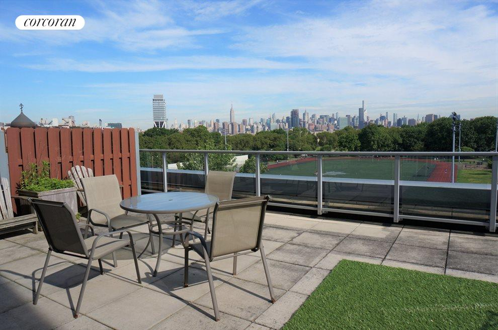 559 SF Private Roof Terrace