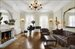 Exquisite Living Room with Original Details