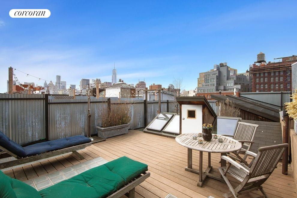 Private Roof Deck with Full City Views