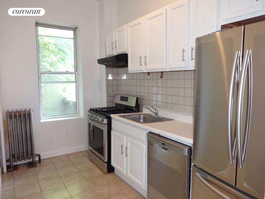 Window and Stainless Steel Appliances