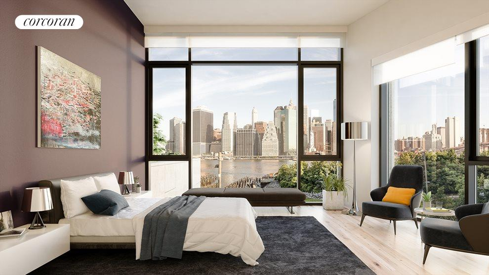 Master Bedroom with Views!