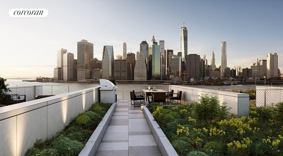 Private Roof Deck with Views in Every Direction