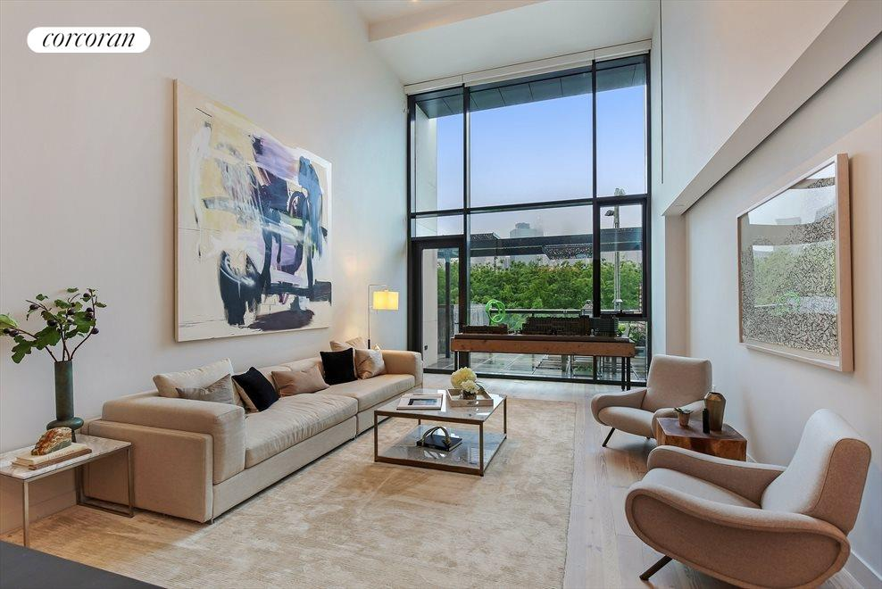 Double Height Living Room