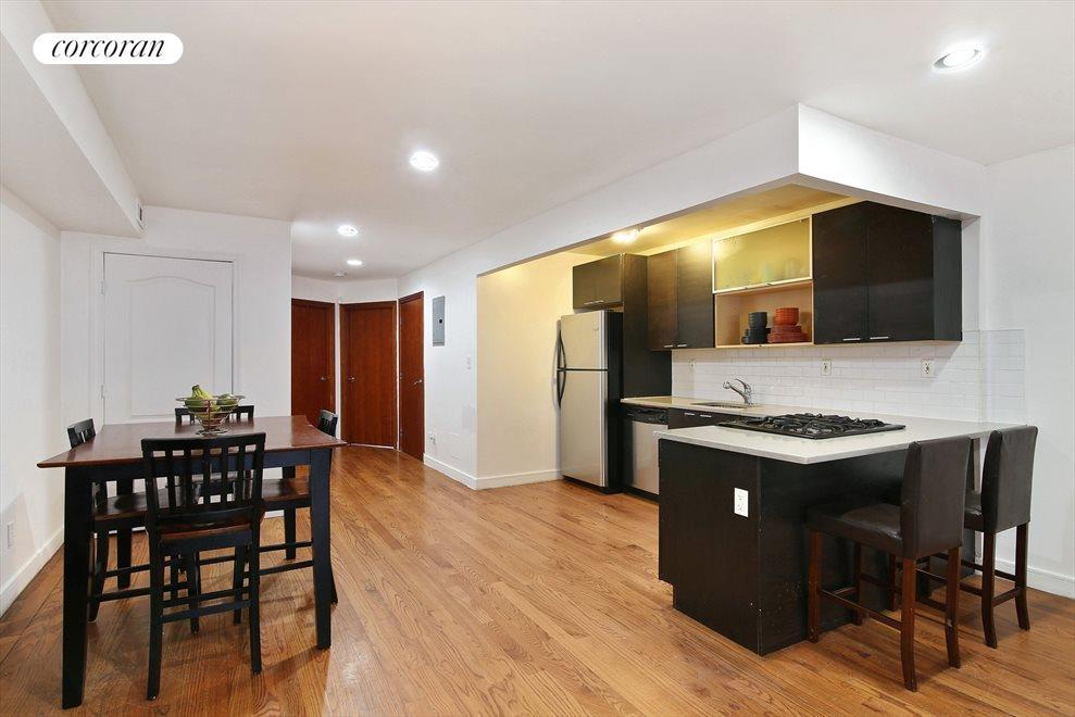Open Modern Kitchen w/Stainless Steel Appliance
