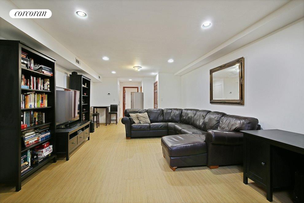 Large Recreation Room with Central Air