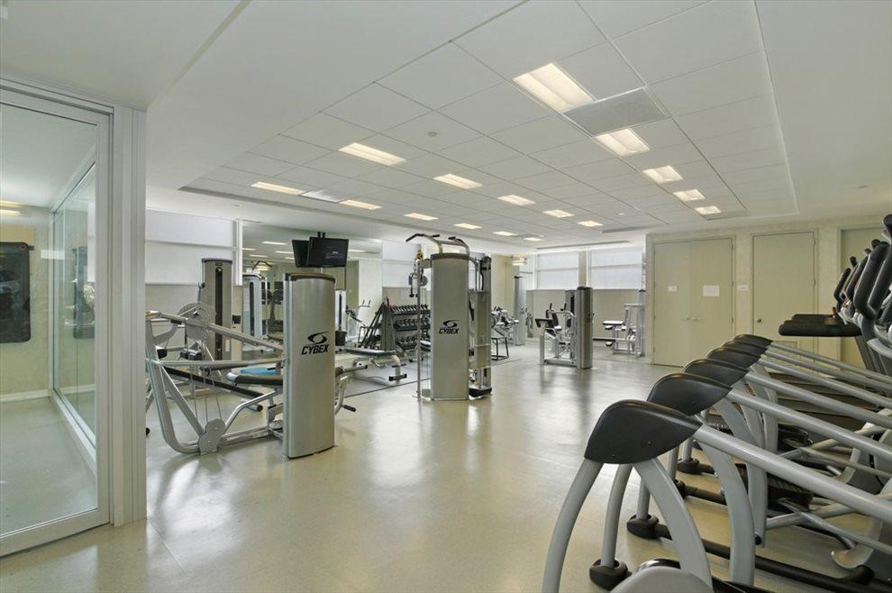 Fitness Center with Yoga Studio