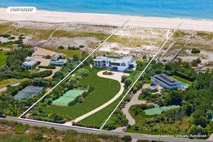 Modern Oceanfront On Five Acres, Southampton