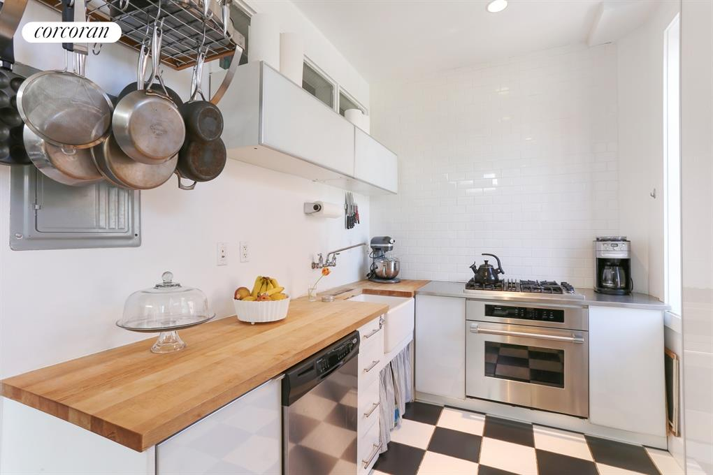 Kitchen in Carriage House