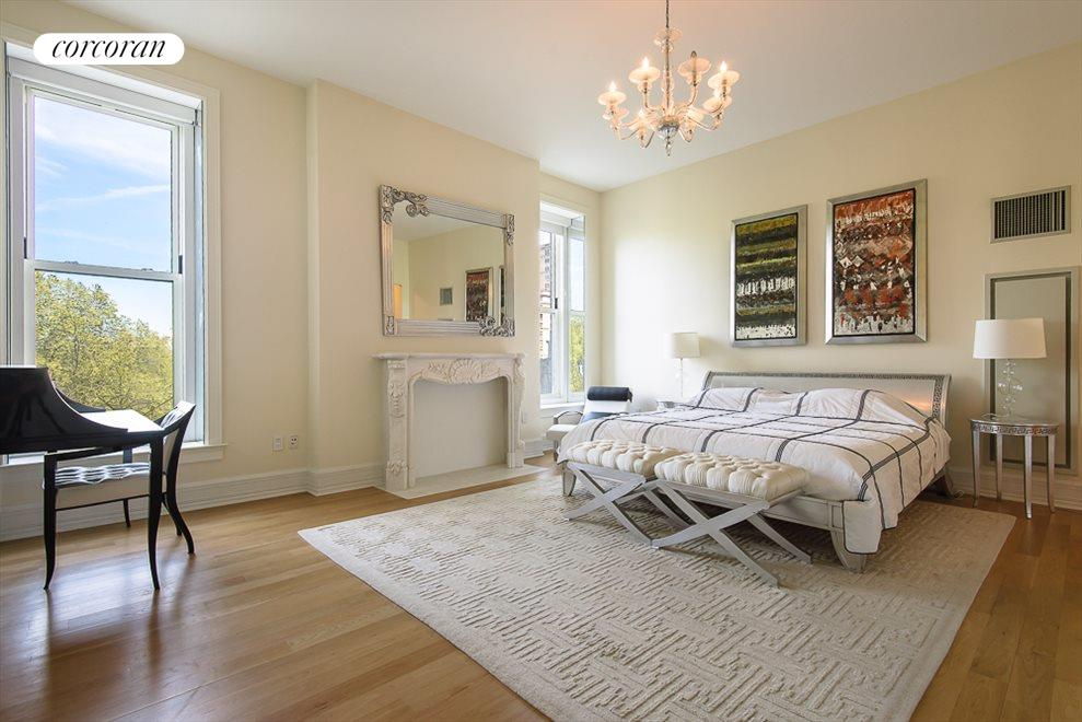 Master Bedroom with Central Park Views