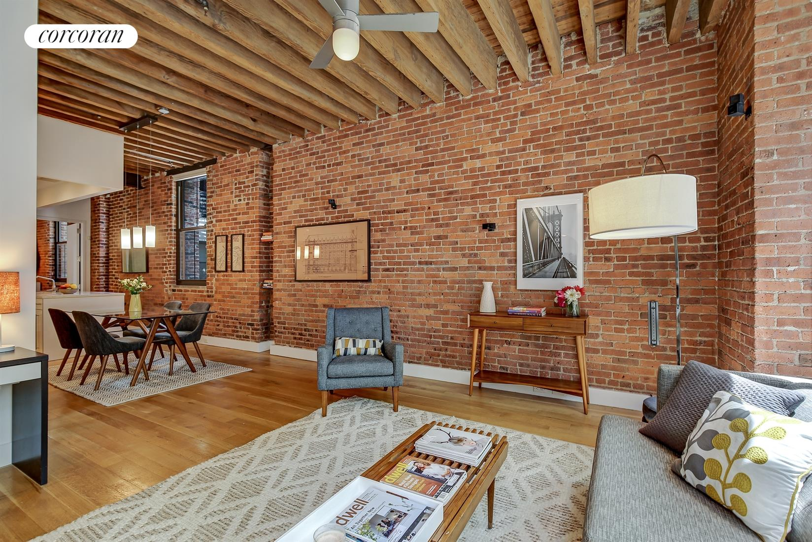 406 West 45th Street, 2C, Living Room