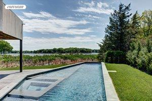 Stunning Sag Harbor Waterfront With Dock and Pool, Sag Harbor