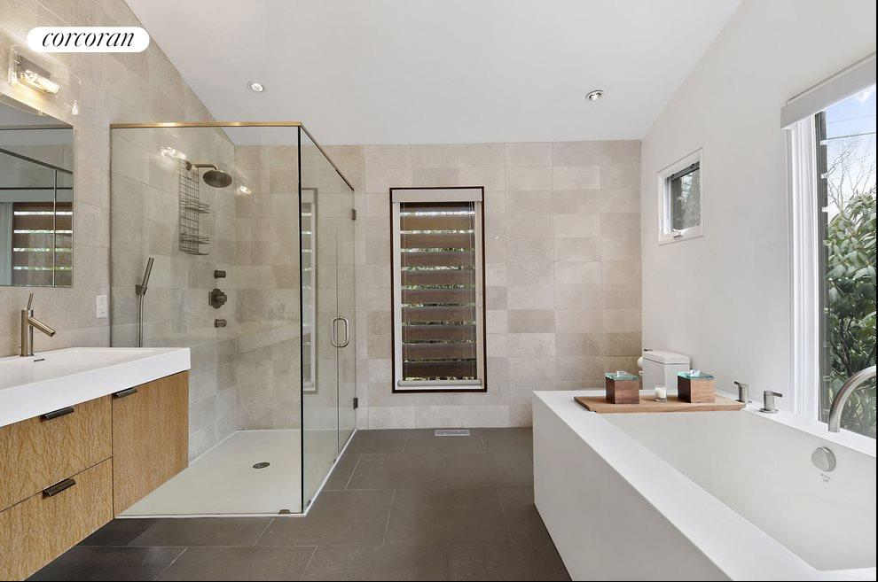 New York City Real Estate | View 47 Westwood Road | Master Bath