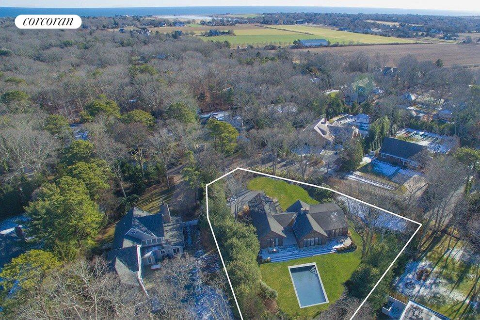 New York City Real Estate | View 47 Westwood Road | aerial