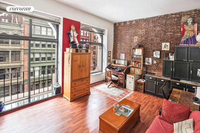 77 Bleecker Street, 726E, Living Room