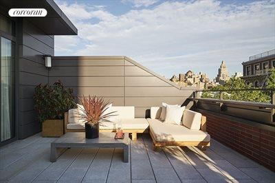 New York City Real Estate | View 141 West 11th Street | Private south-facing rooftop terrace