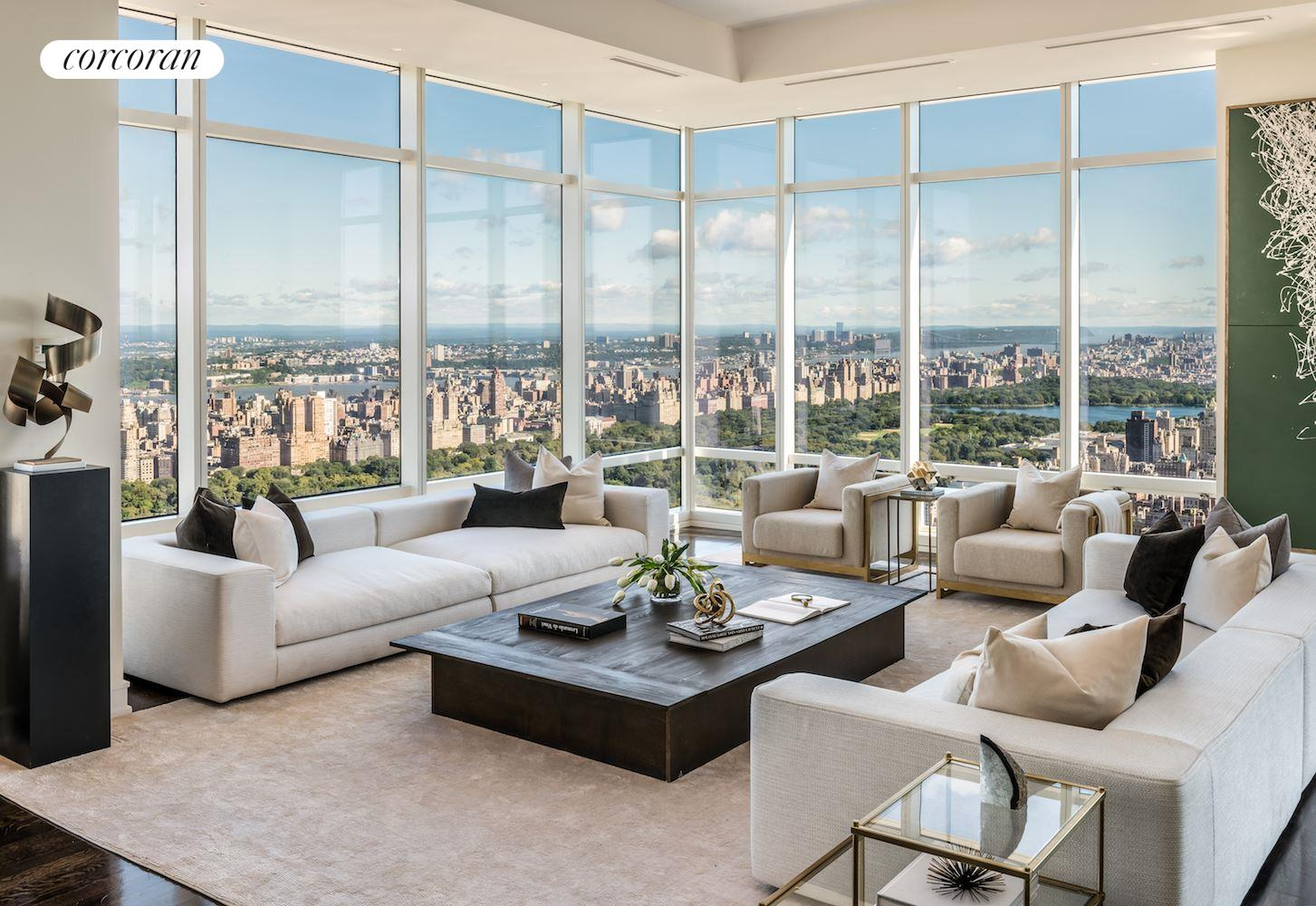 Corcoran 151 east 58th street apt ph53w upper east for Central park penthouses for sale
