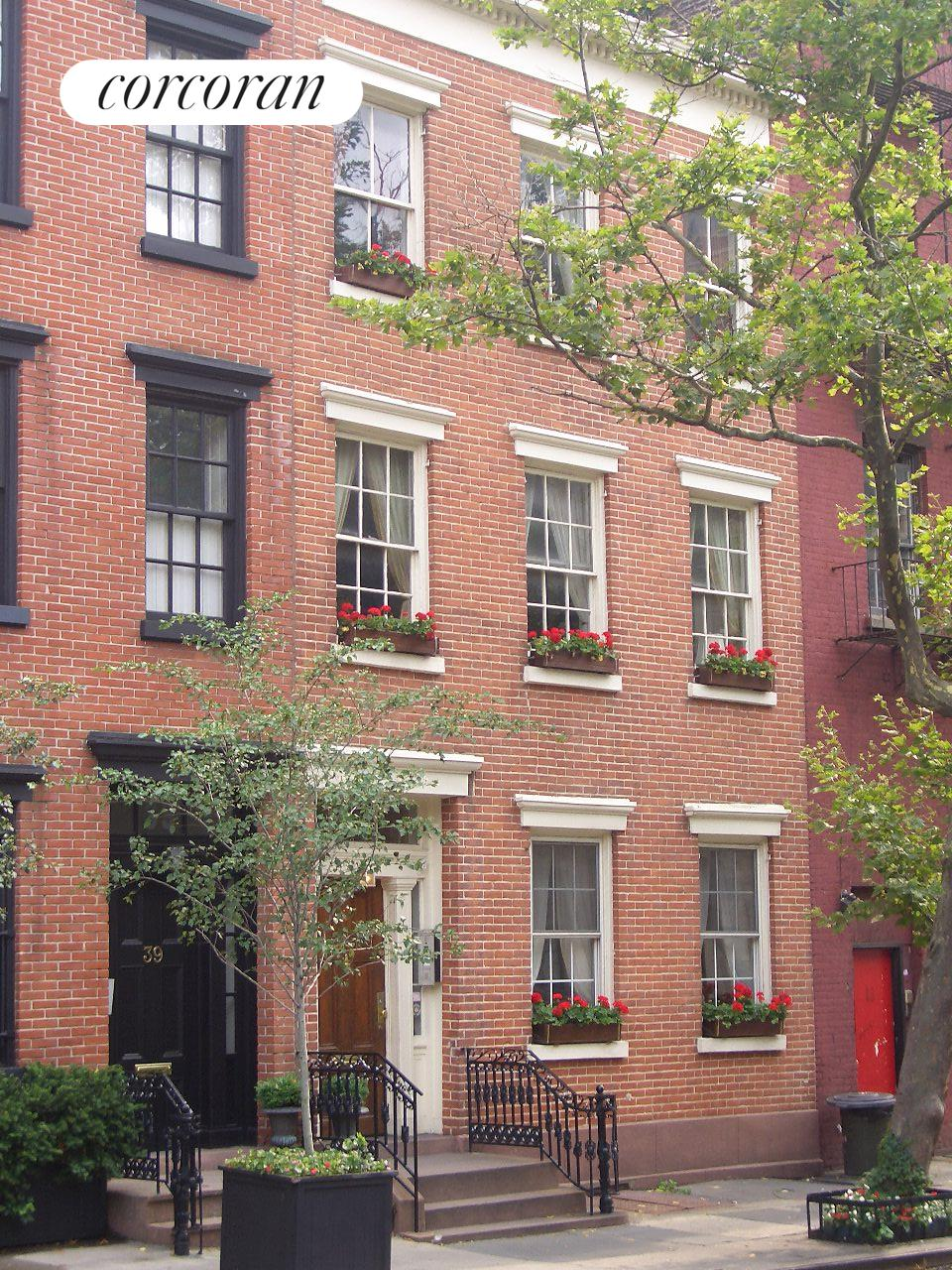 Corcoran 41 bethune street west village real estate for West village townhouse for sale