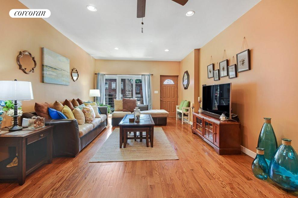 Bright Southern Exposure and High Ceilings