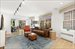 40 West 76th Street, 2/4AB, Living/dining rooms with entrance to garden