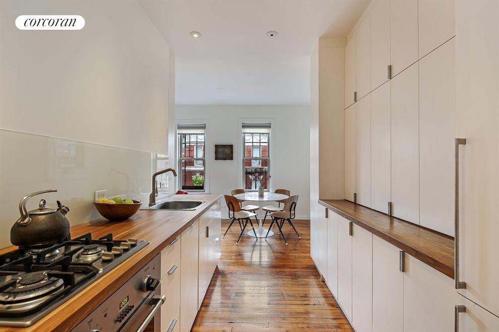 New York City Real Estate | View 204 West 10th Street, #28 | Modern Kitchen Loaded with Storage