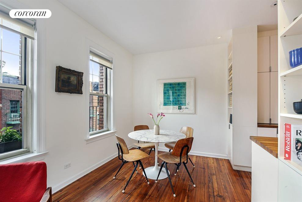 New York City Real Estate | View 204 West 10th Street, #28 | Separate Dining Area off Kitchen