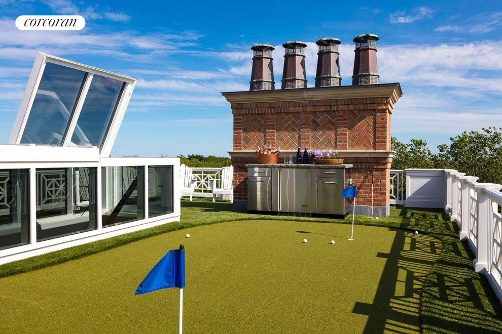 roof top putting green