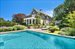 Sag Harbor, Heated saltwater pool amongst gorgeous gardens