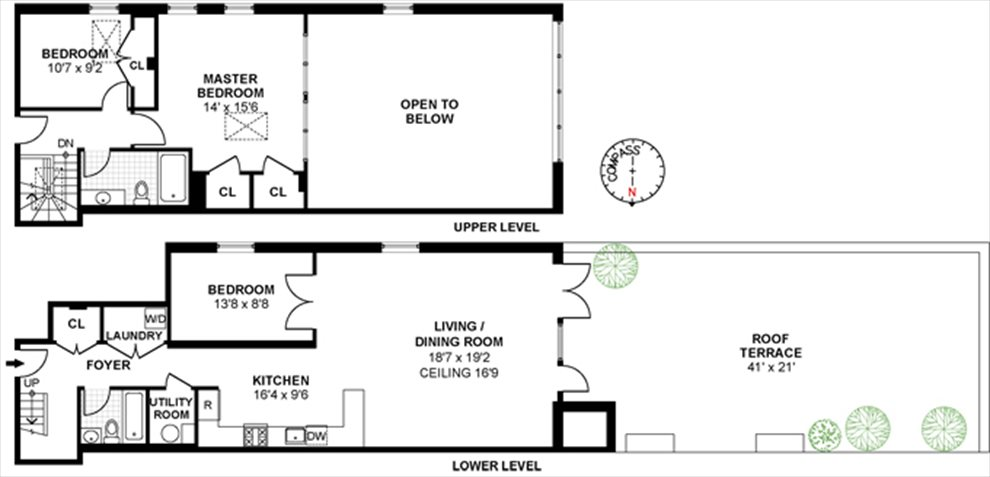 New York City Real Estate | View 15th Street | Floorplan