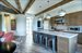 15 Church Street, W-304, Fanned beams in ceiling articulate the kitchen and living room