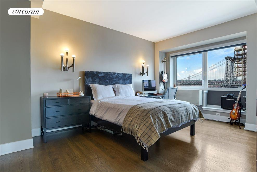 New York City Real Estate | View 440 Kent Avenue, #11D | Master Bedroom