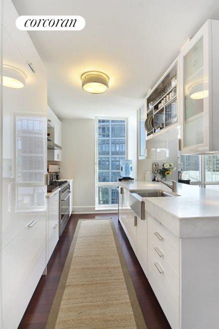 Gourmet Windowed Kitchen