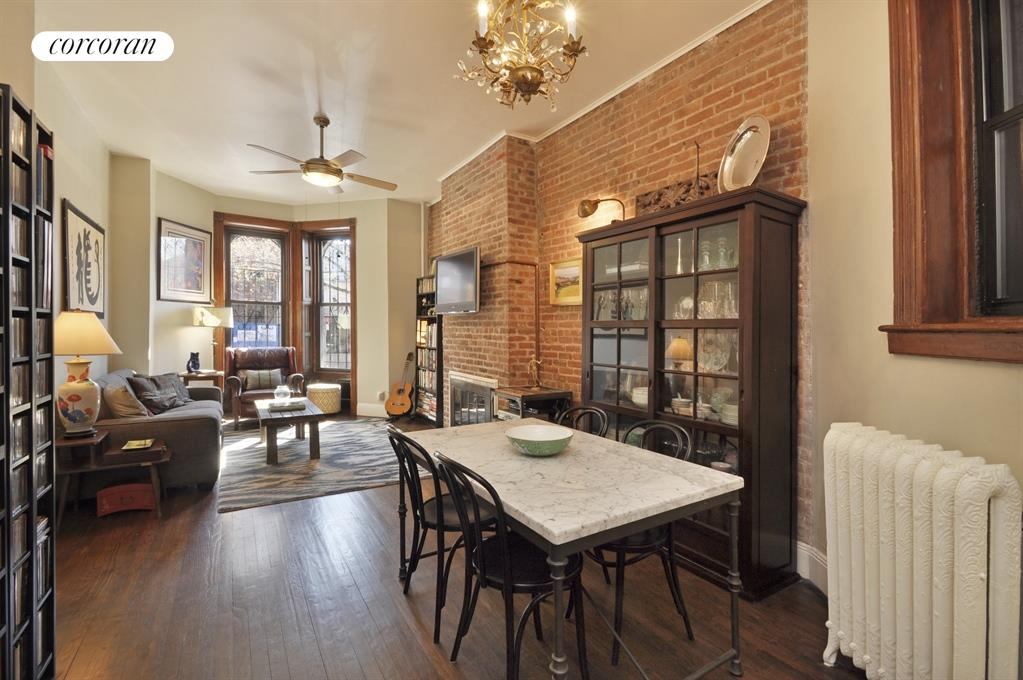 749 Union Street, 1L, Wood Burning Fireplace & Original Detail