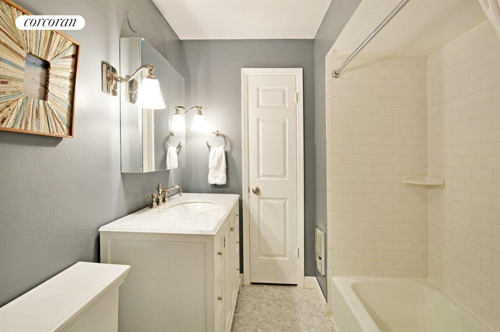 Newly Renovated: Marble Mosaic Tiles and Vanity