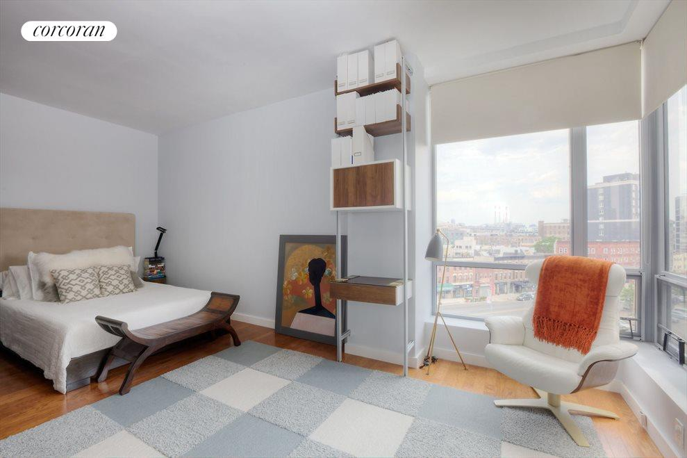Master Bedroom with Open City Views