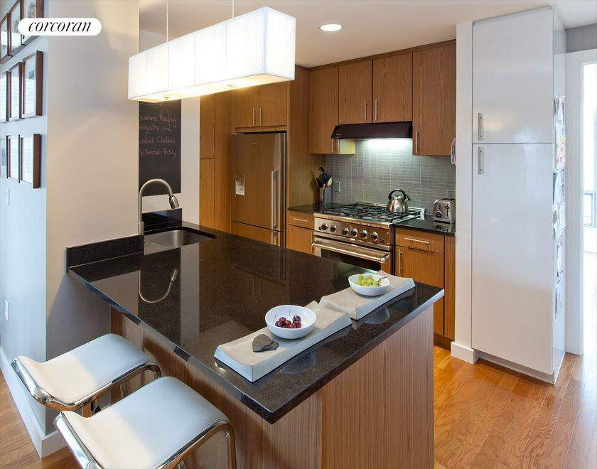 Custom Cabinetry and Granite Counters