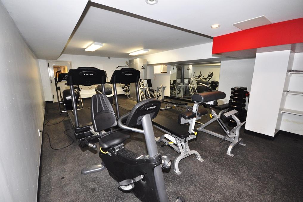 Modern gym...